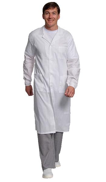 Рабочий белый халат 6
